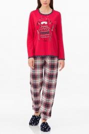 Dámské pyžamo 11445-149 červená - Vamp