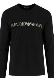 Pánské tričko 111653 9A516 00020 černá - Emporio Armani