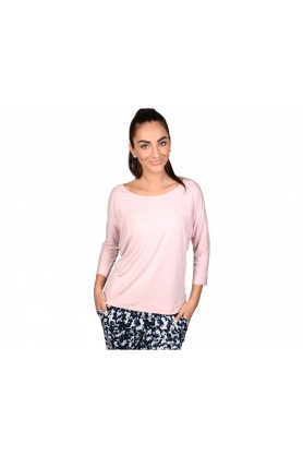 Dámské tričko 3/4 rukáv QS5834E - Calvin Klein