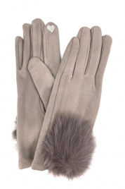 Dámské rukavice G-1444 šedá - Gemini