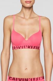Podprsenka Seamless QF1631E růžová - Calvin Klein