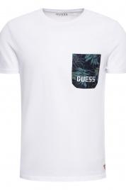 Pánské tričko F94I01JR05D-A000 bílá - Guess