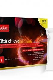 Rozpustné afrodiziakum pro muže a ženy Elixir Of Love 4 sáčky (Á5,28MG) - Valavani