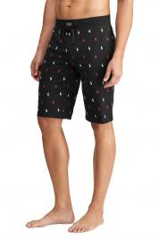 Pánské pyžamové šortky 71466311001 černá - Ralph Lauren