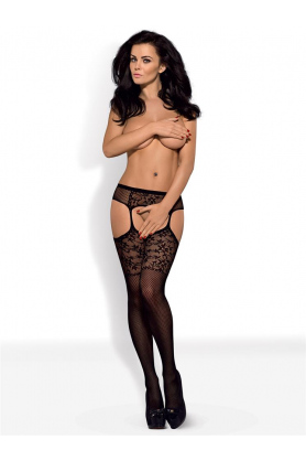 Punčochy Garter stockings S211 - Obsessive