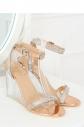Dámské sandály na podpatku JR1801 - Inello