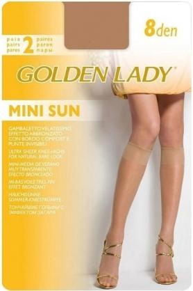 Podkolenky Mini Sun 8 den 2P - Golden Lady