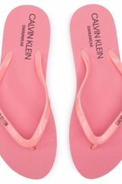 Dámské žabky KW0KW00397 růžová - Calvin Klein