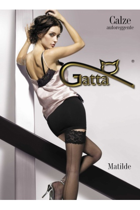 Samodržiace pančuchy Matilde - Gatta