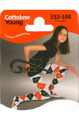 Dětské punčochové kalhoty Gatta Cottoline Young