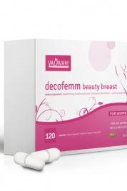 Kapsle pro ženy DecoFemm Beauty Breast 120 kapslí - Valavani