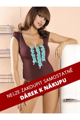 DÁREK Souprava Gossip top+shorts - Obsessive