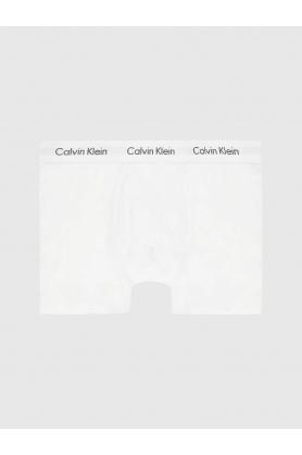 Boxerky 1 pcs U6411A 100 bílá - Calvin Klein