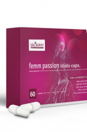 Kapsle pro ženy Femm Passion Libido Caps. 60 kapslí - Valavani