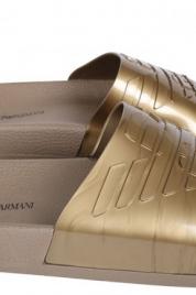 Pantofle X4PS02 zlatá - Emporio Armani