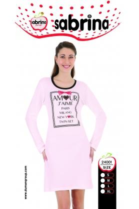Dámská noční košile SAB 24001 Sabrina