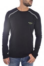 Pánské tričko U94M08JR00A-A996 černá - Guess