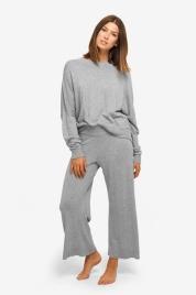 Dámské tričko na spaní QS6275E-020 šedá - Calvin Klein