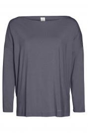 Dámské triko na spaní QS6264E-CDQ šedá - Calvin Klein