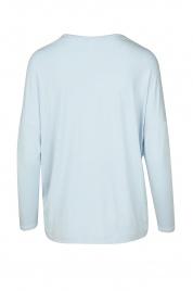 Dámské triko na spaní QS6409E-GR4 modrá - Calvin Klein