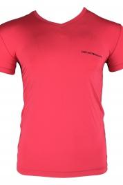 Pánské tričko 110810 9P719 04873 růžová - Emporio Armani