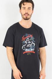 Pánská noční košile s krátkým rukávem Legendary - Gazzaz