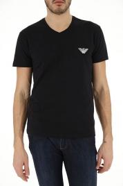 Pánské tričko 111556 9P525 černá - Emporio Armani