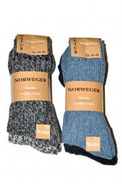 Pánské ponožky 21108  2 ks -Norweger WíK