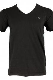 Pánské tričko 211801 9P462 černá - Emporio Armani