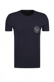 Pánské tričko 111035-8A595 černá - Emporio Armani