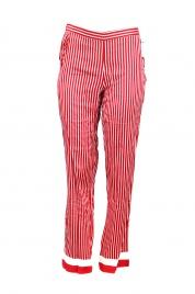 Dámské pyžamové kalhoty QS6067E-MVT červená - Calvin Klein