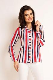 Dámská košile A 170 Lila Stripes - Awama