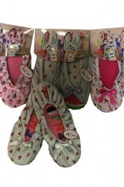 Dámské balerínky - papuče 3072 - RiSocks