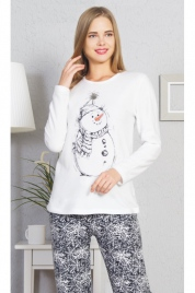 Dámské pyžamo dlouhé Winter - Vienetta