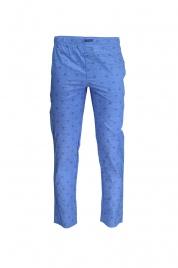 Pánské pyžamové kalhoty NM1517E-SQ1 modrá - Calvin Klein