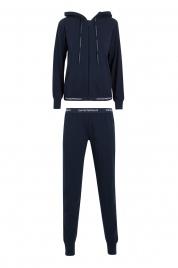 Dámské pyžamo 164145 CC270 00135 modrá - Emporio Armani