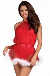 Nezbedný kostým Santastic dress - Obsessive