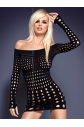 Košilka Rocker dress - Obsessive