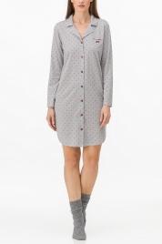 Dámská noční košile 11060-107 šedá - Vamp
