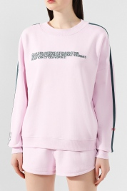 Dámská mikina QS6187E-AUY růžová - Calvin Klein