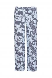 Dámské pyžamové kalhoty QS6028E-SFB modrá - Calvin Klein