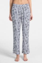 Dámské pyžamové kalhoty QS6028E-EFZ modrobílá - Calvin Klein