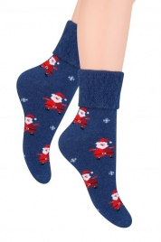 Dámské ponožky Merry Christmas 030 - Steven