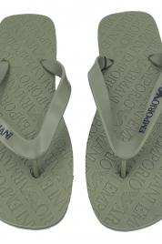 Pánské žabky X4QS01 XL826 khaki - Emporio Armani
