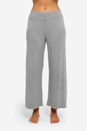 Dámské pyžamové kalhoty QS6276E-020 šedá - Calvin Klein