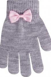 Dívčí rukavice s mašlí LUREX R-070A - YoJ