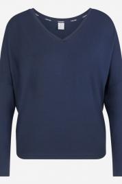 Dámské triko na spaní QS6331E-OPP tmavěmodrá - Calvin Klein