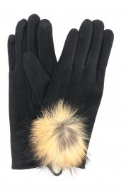 Dámské rukavice G-1444 černá - Gemini
