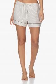 Dámské pyžamové kraťasy QS6449E-SMH béžová - Calvin Klein