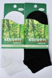 Kotníkové ponožky Steven Natural art.094